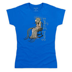 Style: Female, Color: Royal blue.