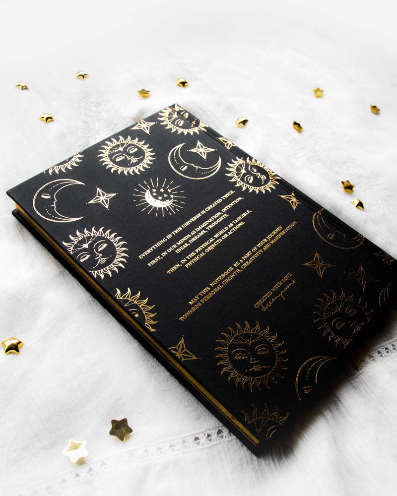 'Magic' Hardcover Blank Journal