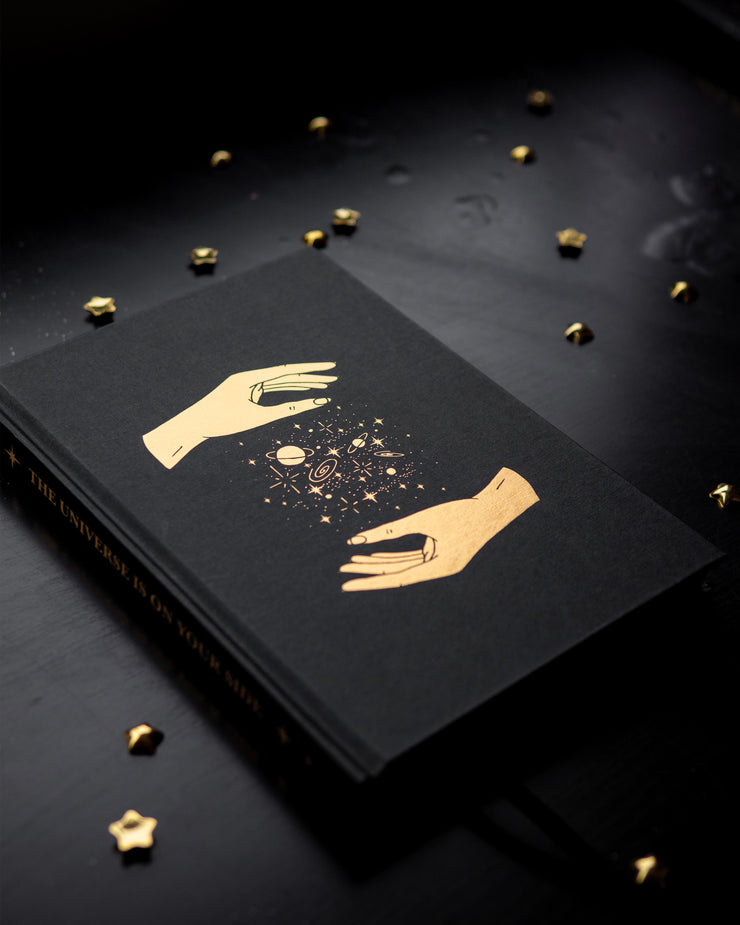 'Universe' Hardcover Blank Journal
