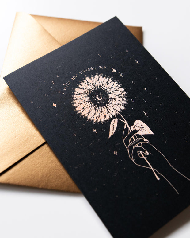 Joy Greeting Card