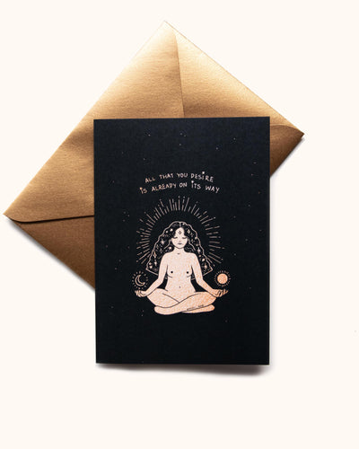 Manifesting Greeting Card