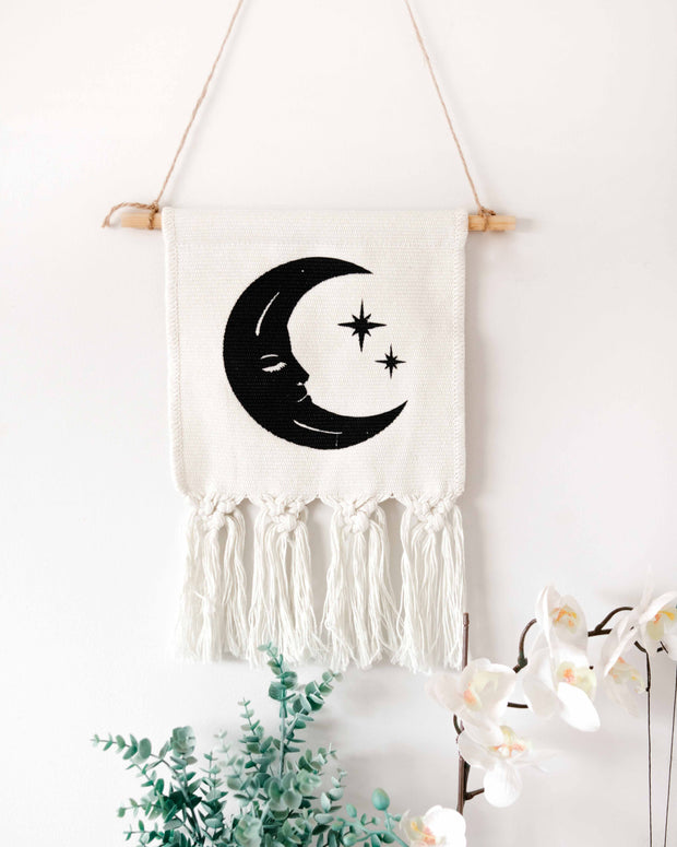 Sun & Moon Wall Hanging Set