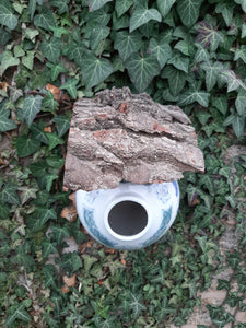 Ginger Jar Bird feeder / Nest Box