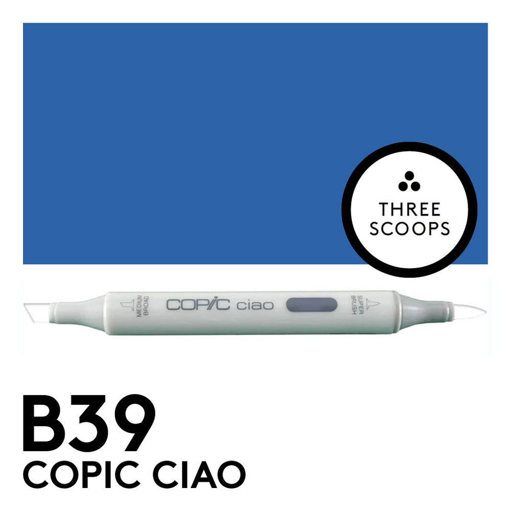 Copic Ciao B39 - Prussian Blue