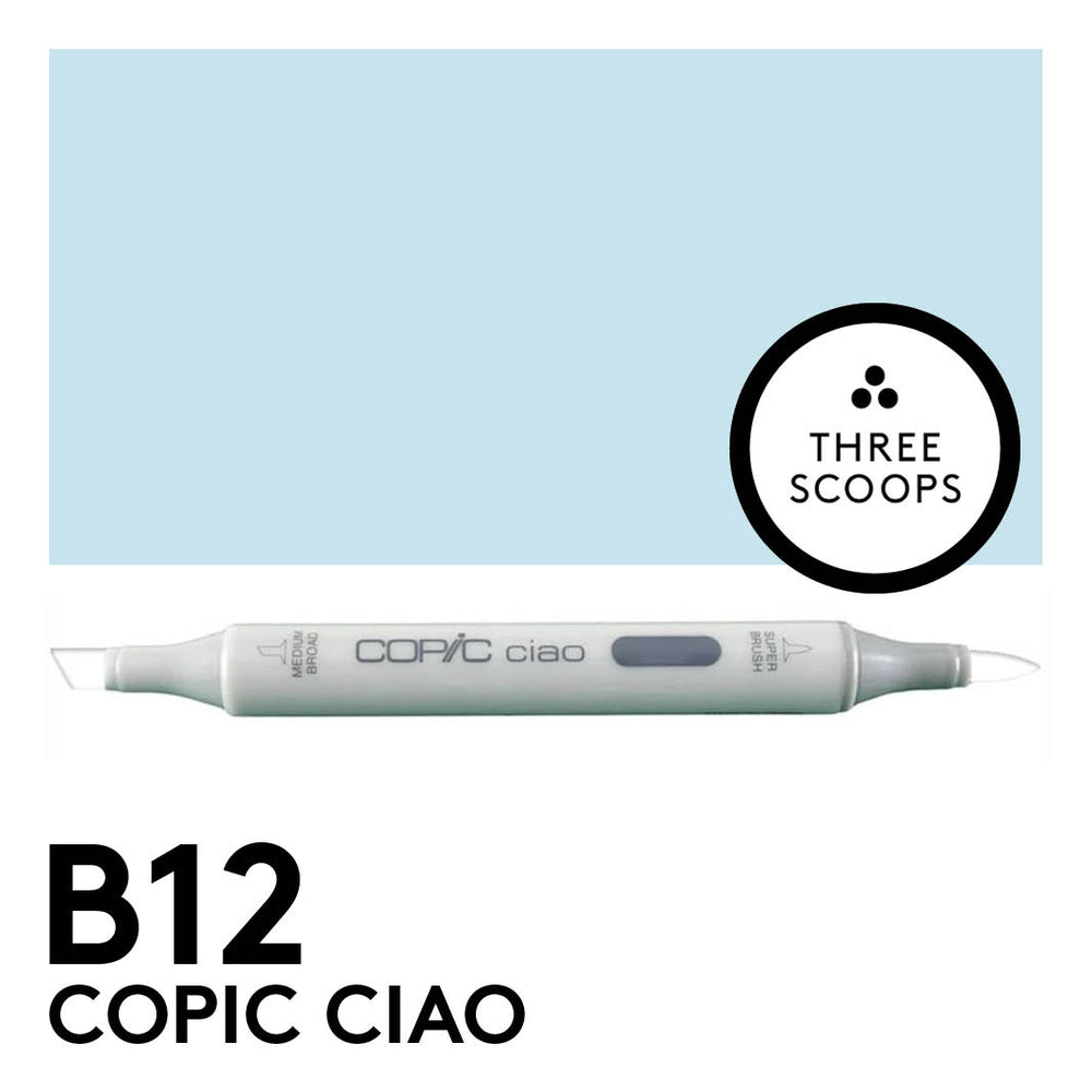 Copic Ciao B12 - Ice Blue
