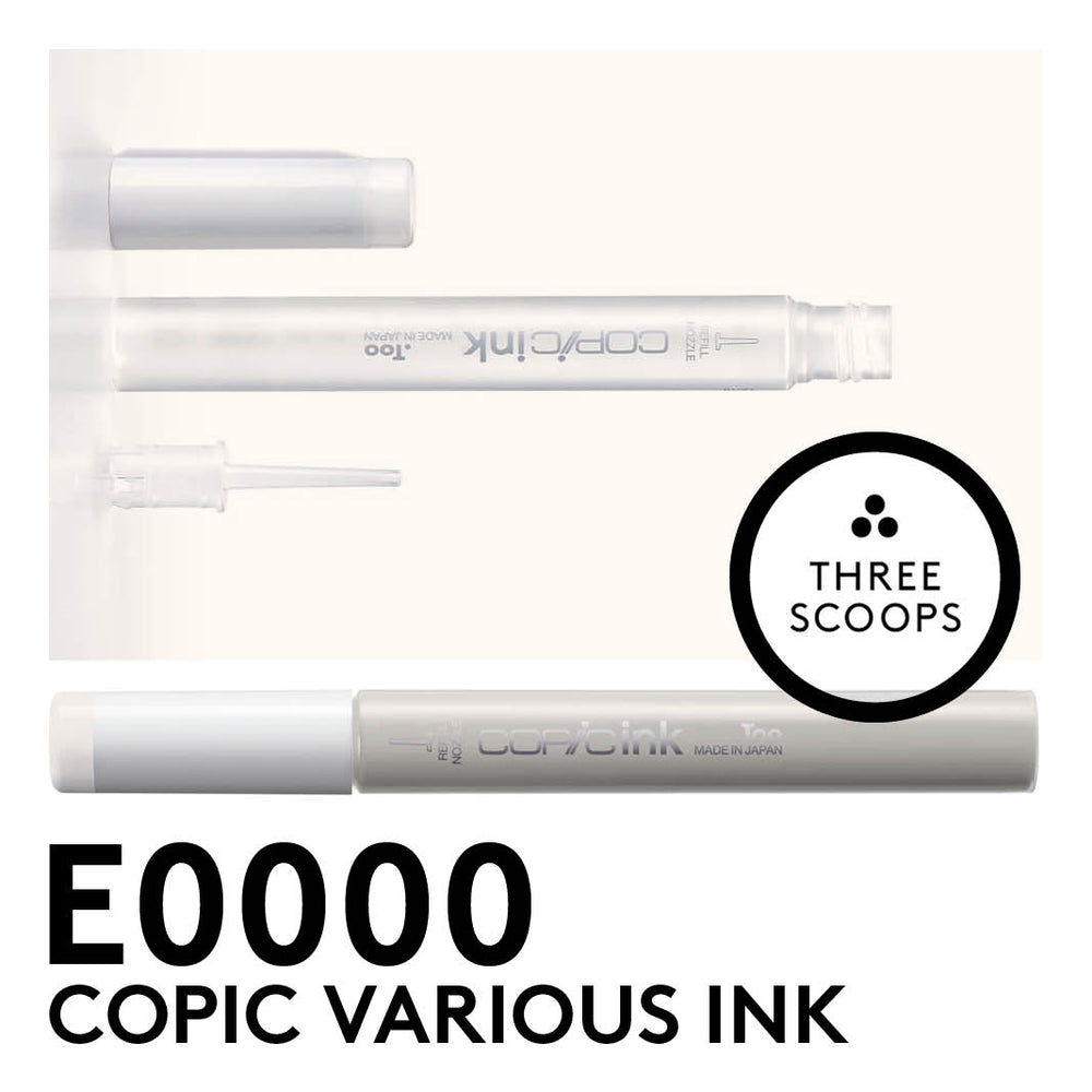 Copic Various Ink E0000 - 12ml