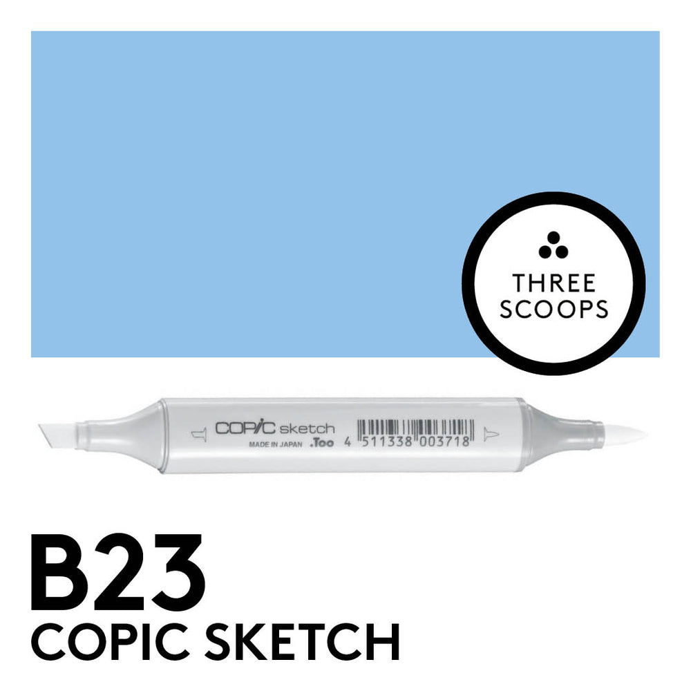 Copic Sketch B23 - Phthalo Blue