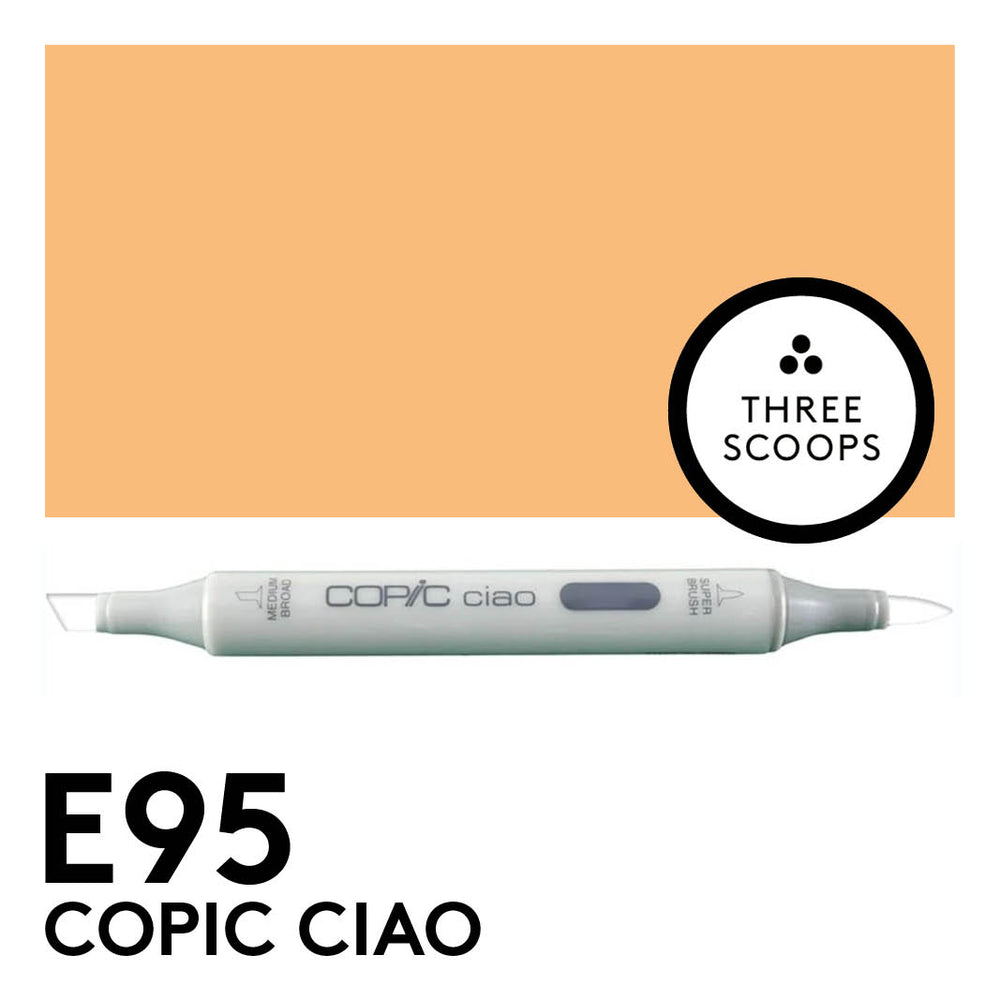 Copic Ciao E95 - Tea Orange
