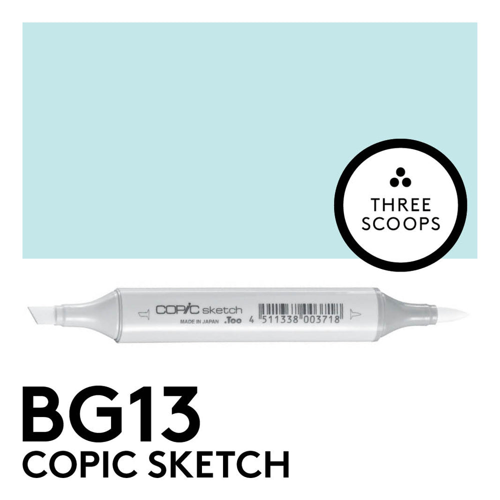 Copic Sketch BG13 - Mint Green