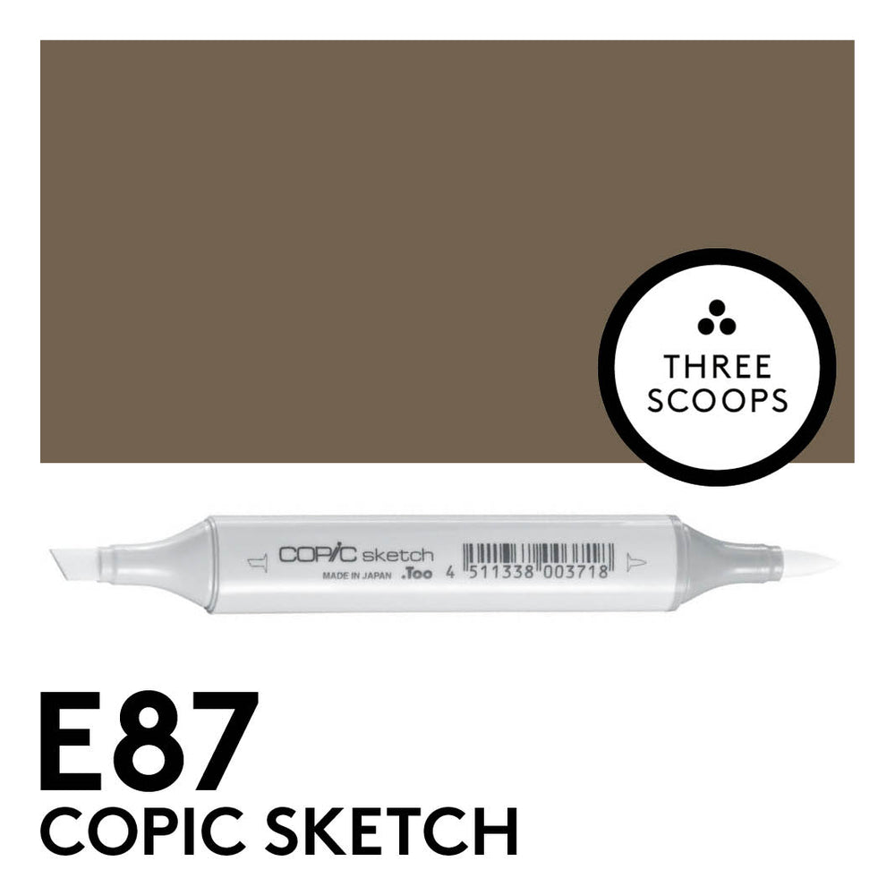 Copic Sketch E87 - Fig
