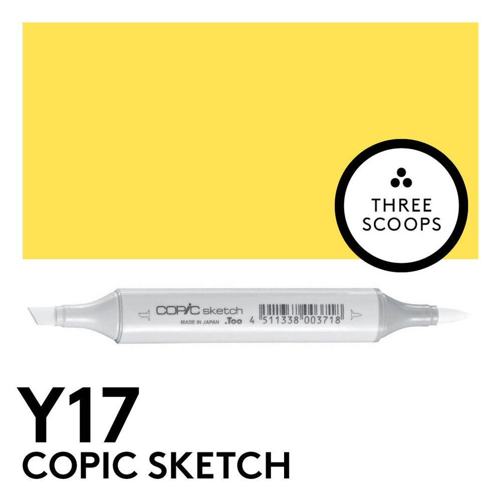 Copic Sketch Y17 - Golden Yellow