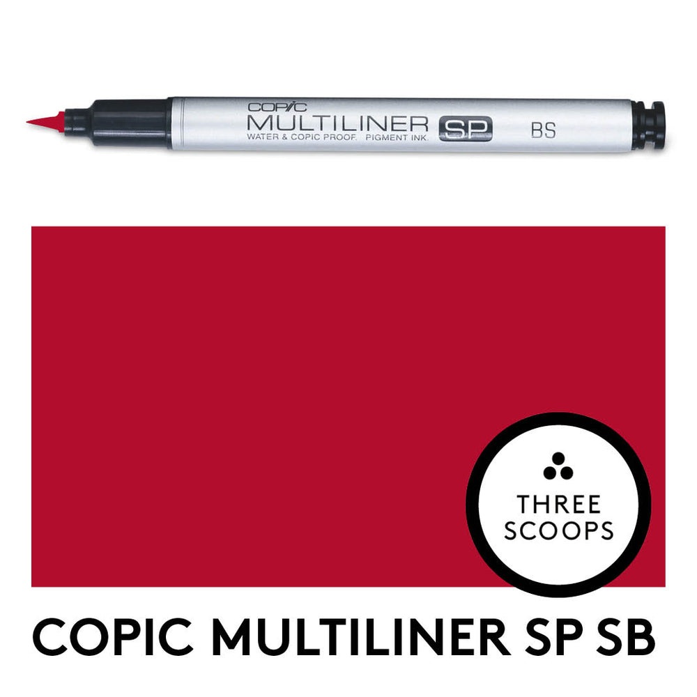 Copic Multiliner SP BS - Red