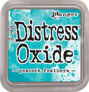 Distress Oxide - Peacook Feathers