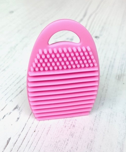 Blender Brush Cleaning Tool Teal - Pink