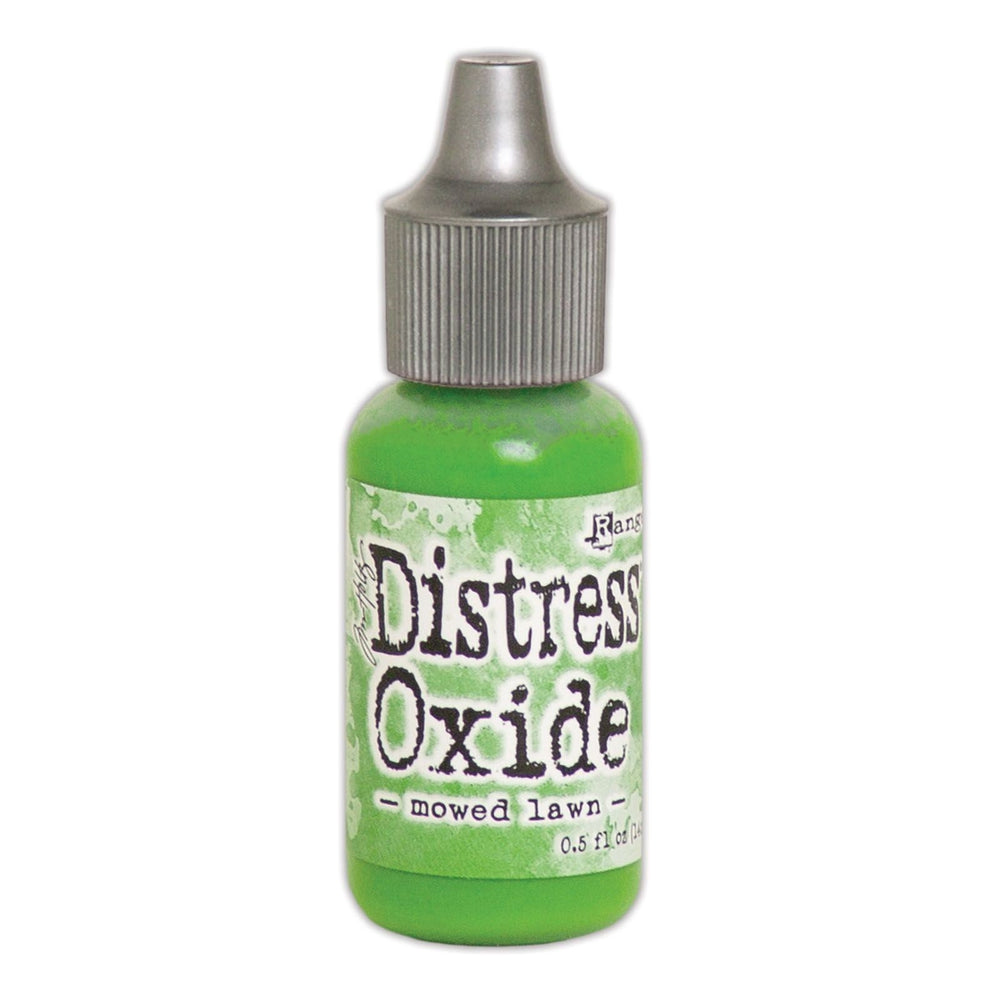 Distress Oxide Reinker - moved lawn