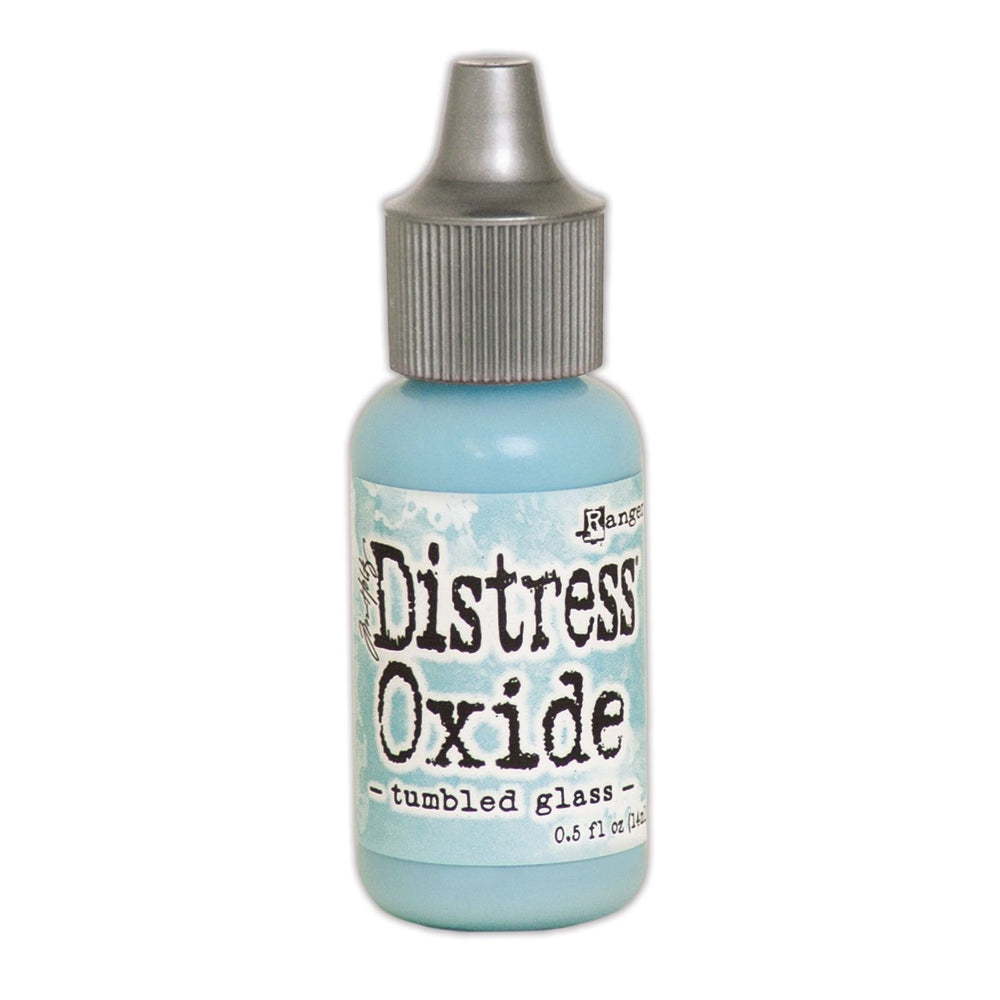 Distress Oxide Reinker - tumbled glass