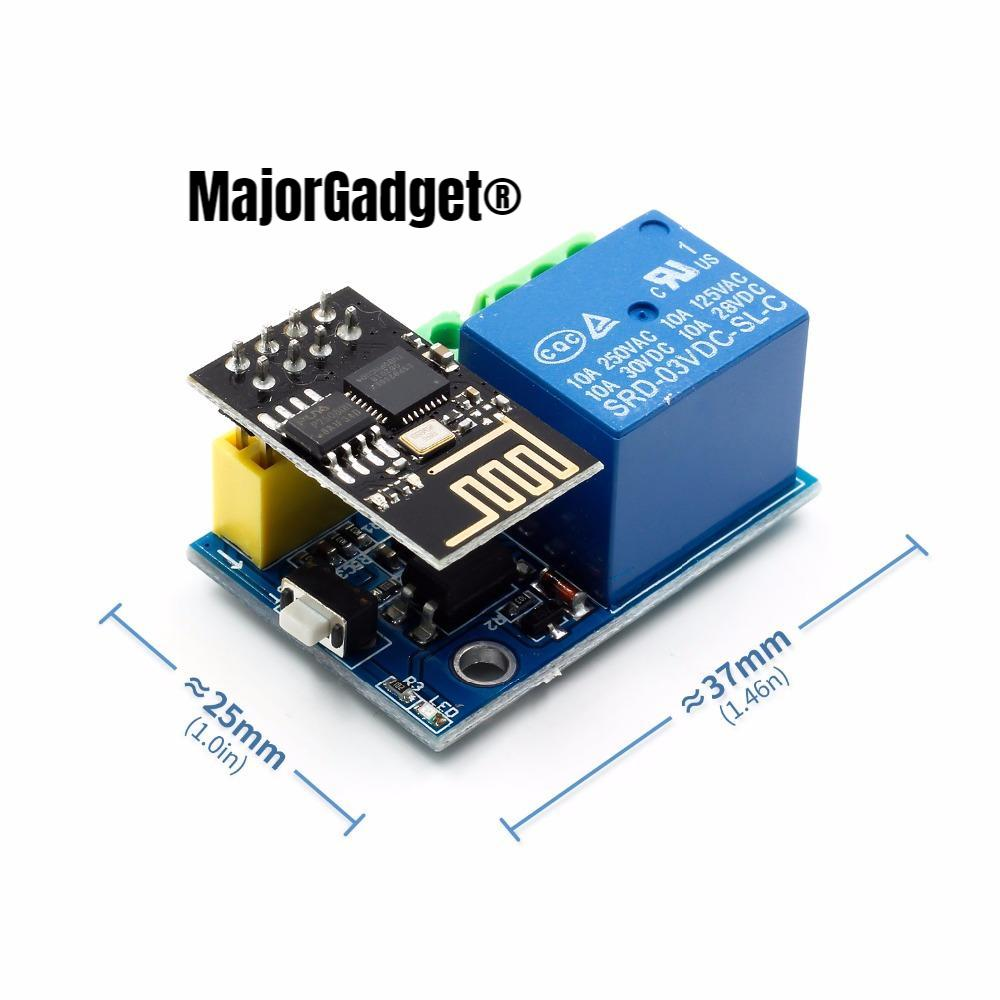 Esp8266 Esp 01s 5v Wifi Relay Module Things Smart Home Remote Component Wireless Switch Circuit Control What Do I Need For Arduino