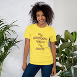 "Scrabble ""Natural hair is dope"" Short-Sleeve Unisex T-Shirt"