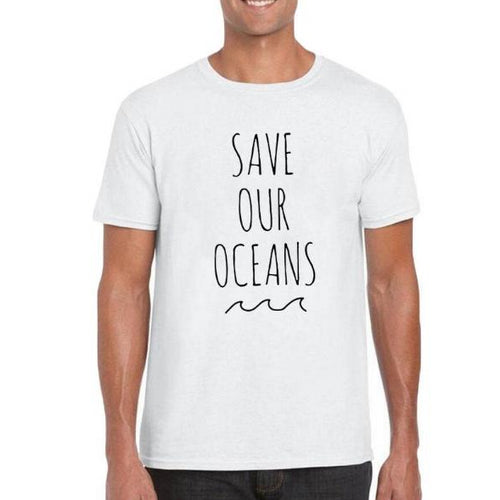 Save Our Oceans Men Tee Shirt