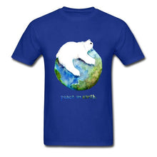 Load image into Gallery viewer, Peace On Earth Men Tee Shirt