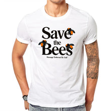 Load image into Gallery viewer, Save The Bees Men Tee Shirt