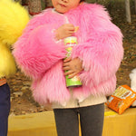 Load image into Gallery viewer, Kids Faux Fur Coat F350 - Furdela Wholesale