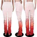 Load image into Gallery viewer, High Waist Stacked Pocket Pants F621 - Furdela Wholesale