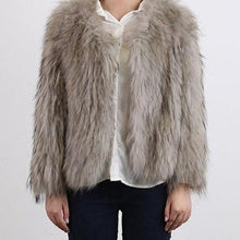 Luxury Raccoon Fur Coat 60CM - DelaFur Wholesale