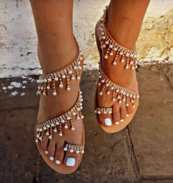 Luxury Pearl Sandal
