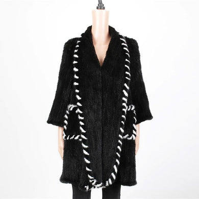 Mink Fur Coat 88CM - DelaFur Wholesale