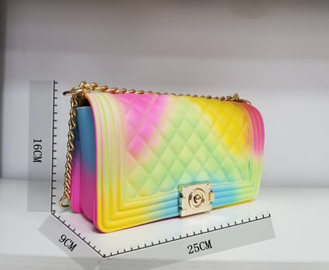 Wholesale Jelly Color bag F045