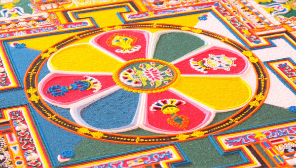 Coloured Sand Mandala