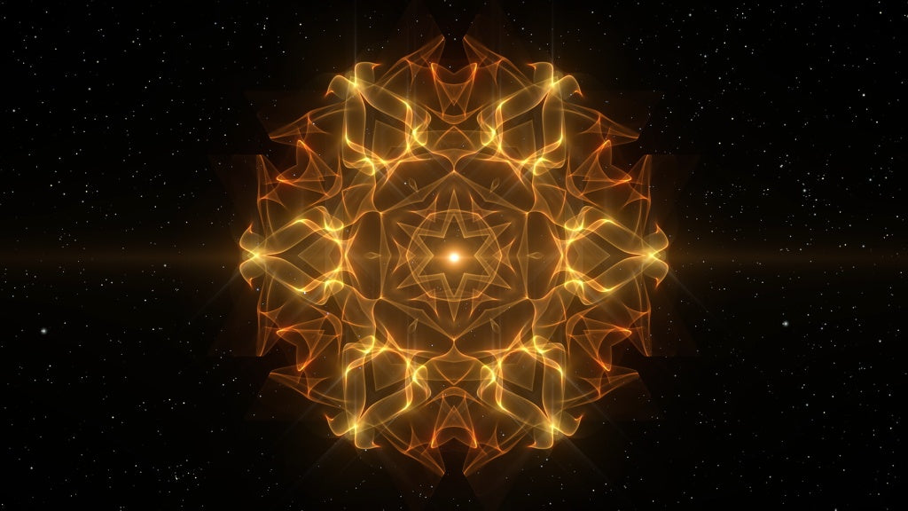 Alignment Gold - meditative and relaxing video, reduce stress, calm the mind
