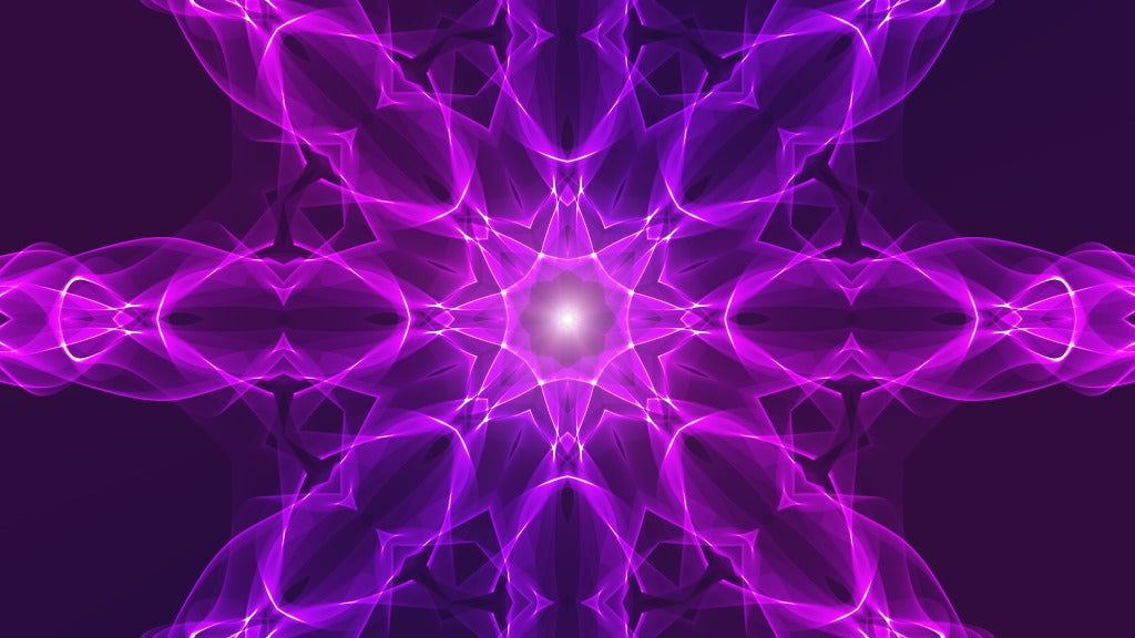 Flow purple - meditative and relaxing video, reduce stress, calm the mind