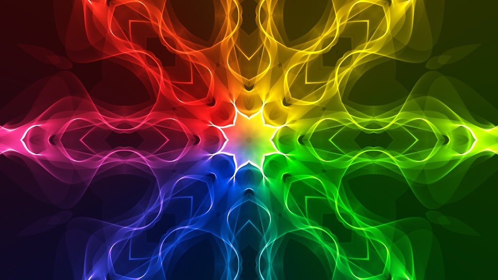 Flow Rainbow - meditative and relaxing video, reduce stress, calm the mind