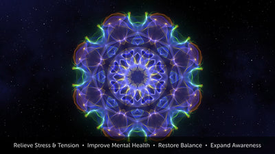 Tranquility - motion art therapy, reduce stress, expand awareness