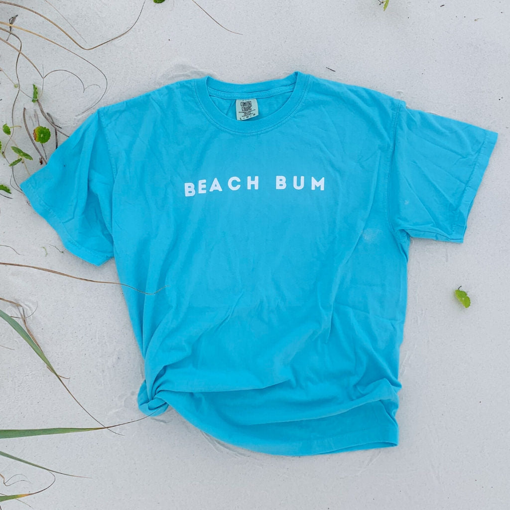 beach bum hangout tee {comfort colors}