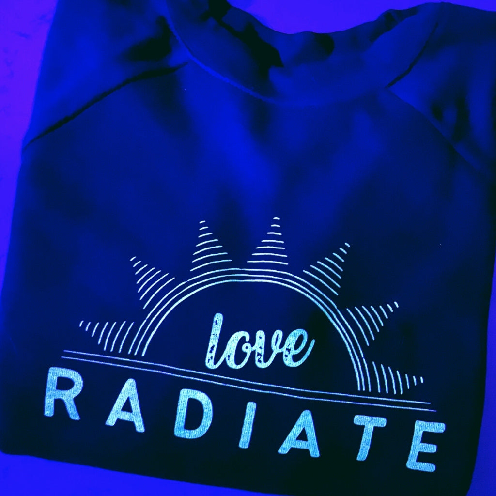 RADIATE LOVE ~ super soft cropped sweatshirt