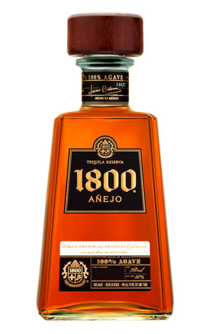 Tequila 1800 añejo  750 ml
