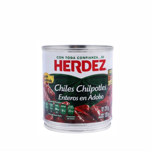 "Chiles Chipotles Adobados ""Herdez"" 215 g (lata)"