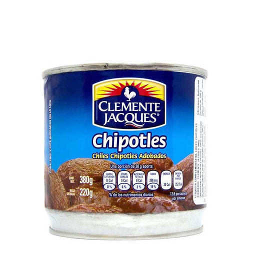 "Chiles Chipotles Adobados ""Clemente Jacques"" 380 g"