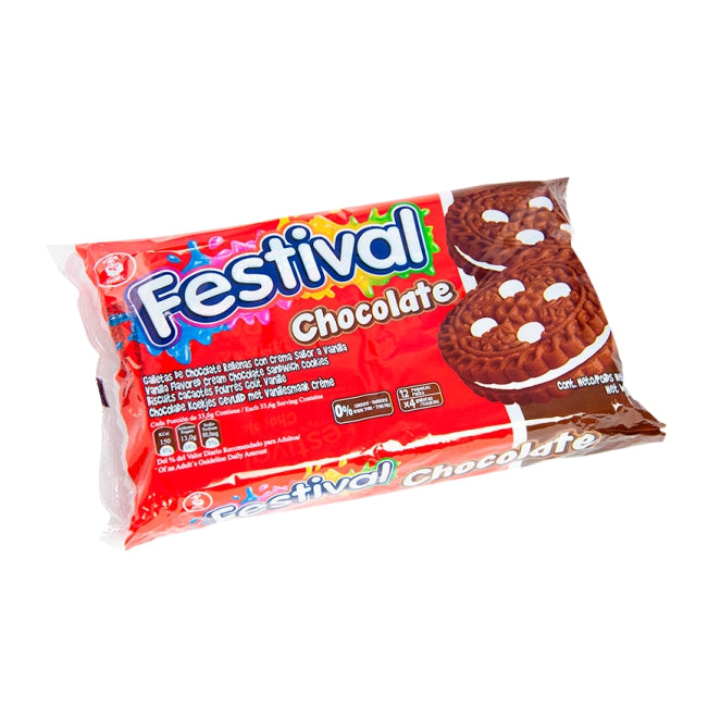 "Galletas ""Festival"" Chocolate 33 Gr pieza."