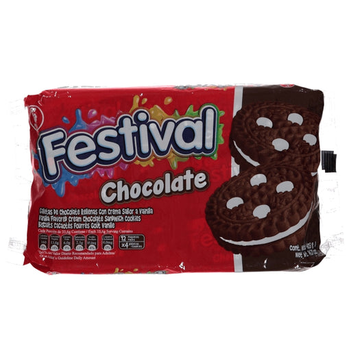 Festival Chocolate Cookie 403 Gr.