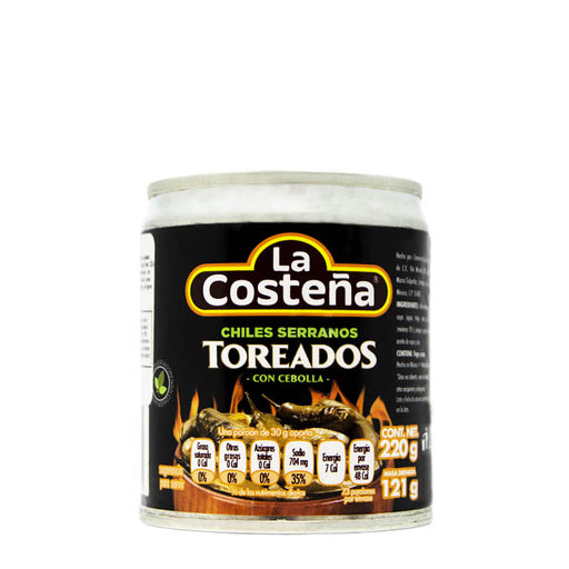 "Chiles Serranos Toreados ""La Costeña"" 220 g"