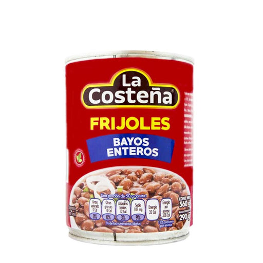 "Whole Bayos Beans ""La Costeña"" 560 g"