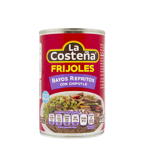 "Berry Beans Refried with Chipotle ""La Costeña"" 440 g"