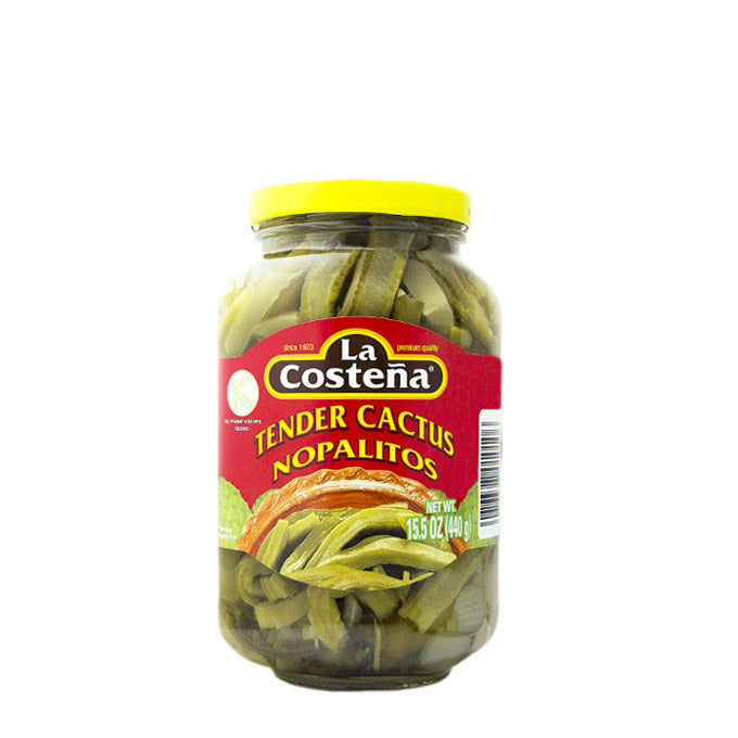 "Tender nopales in strips ""La Costeña"" 440 g"