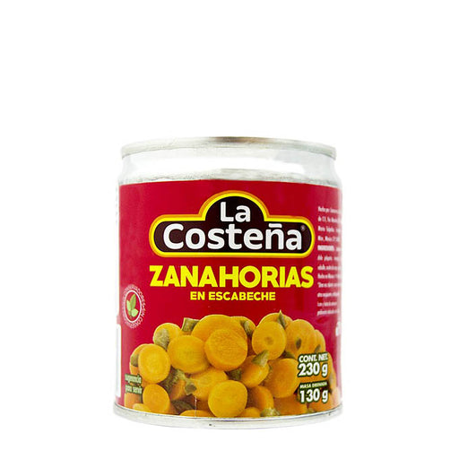 "Pickled carrots ""La Costeña"" 230 g"