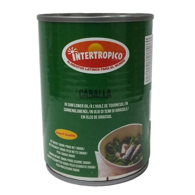 Intertropico Caballa In Sunflower Oil 380 Gr