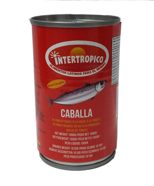 Intertropico Caballa In Tomato Sauce 156 Gr.